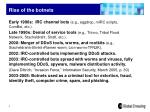 rise of the botnets