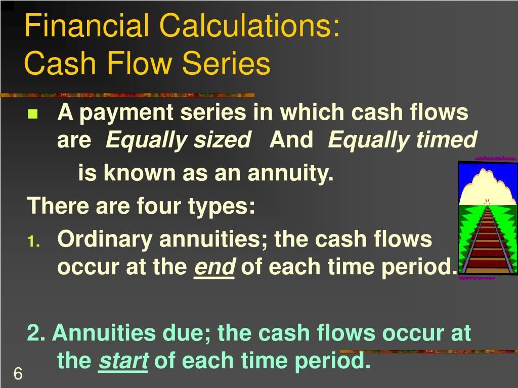 Financial Calculations: