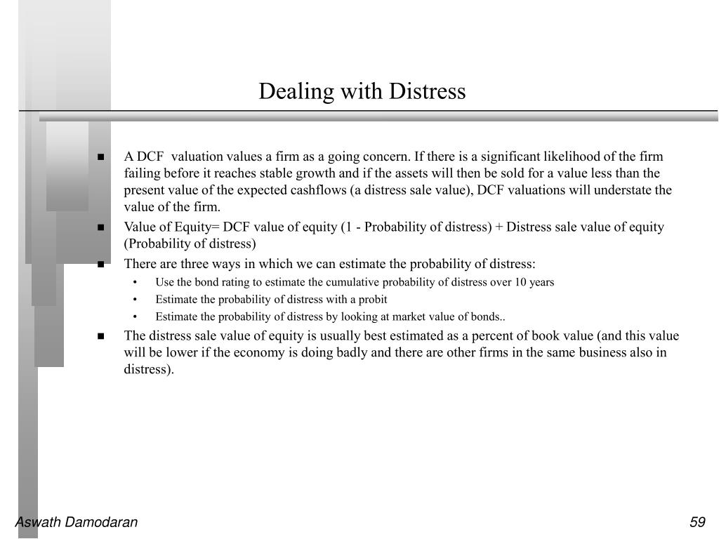 Dealing with Distress