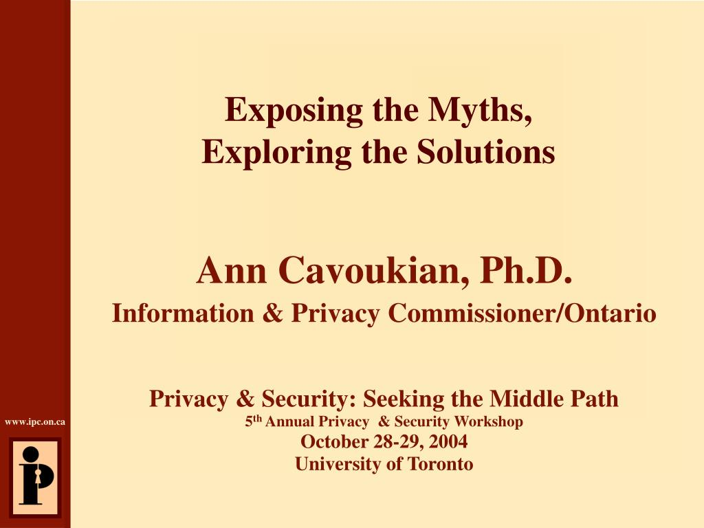 exposing the myths exploring the solutions l.
