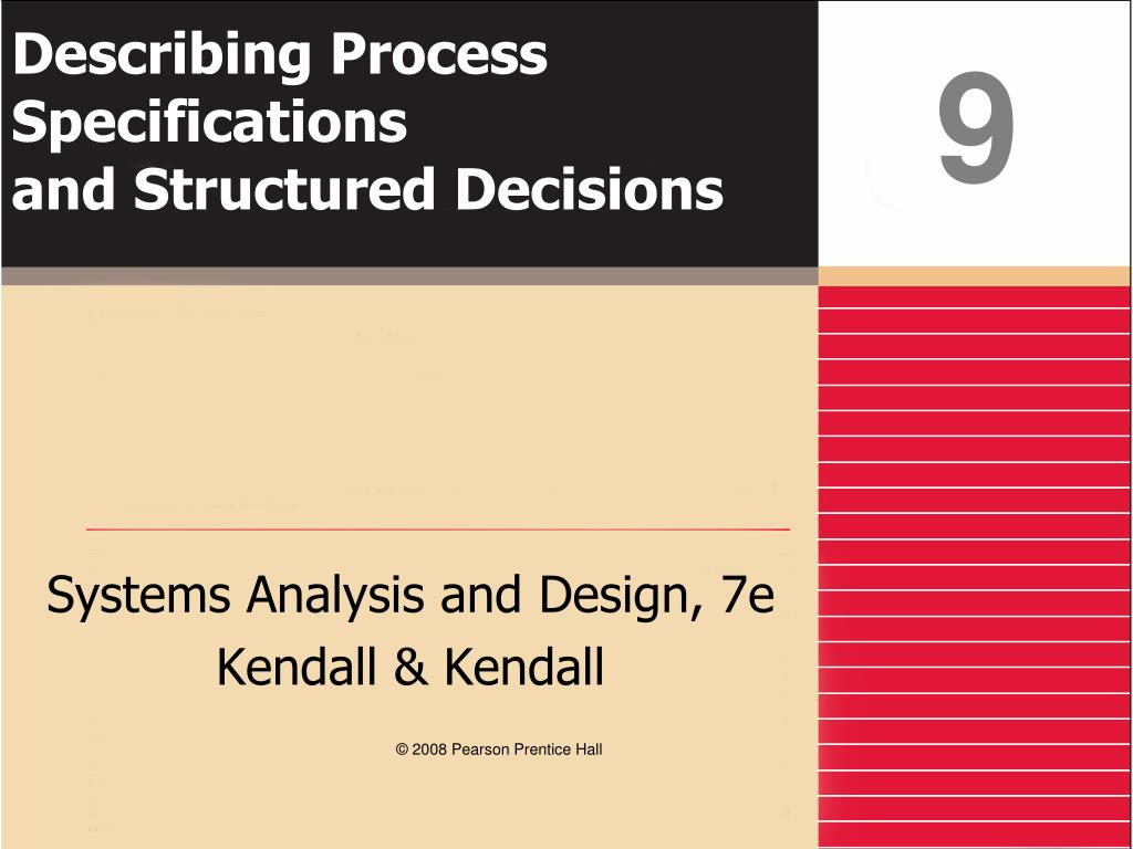 Ppt Describing Process Specifications And Structured Decisions Powerpoint Presentation Id 263851