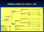 adding utility for worry 95
