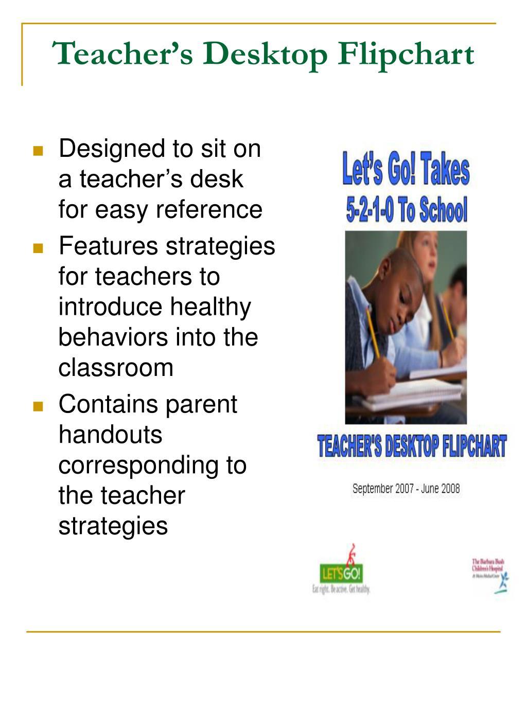 Teacher's Desktop Flipchart