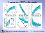 cranmer et al 2007 other results