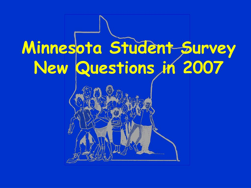 Minnesota Student Survey