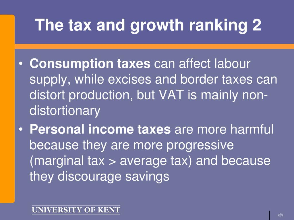 The tax and growth ranking 2