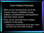 event related potentials