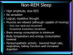 non rem sleep