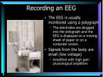 recording an eeg