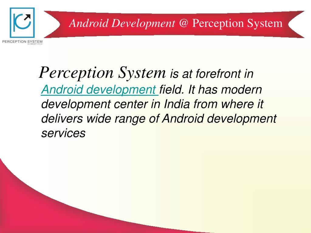 Android Development @