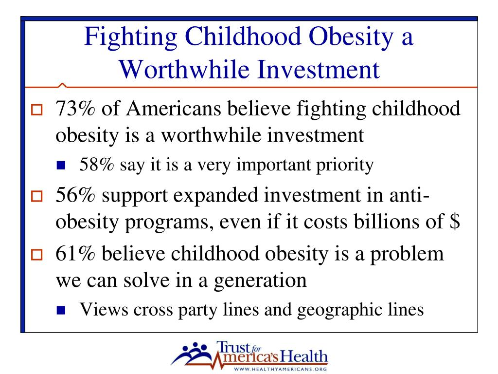 Fighting Childhood Obesity a Worthwhile Investment
