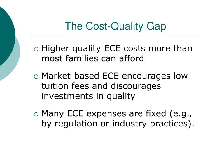 The cost quality gap