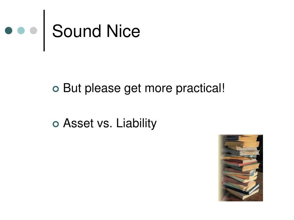 Sound Nice