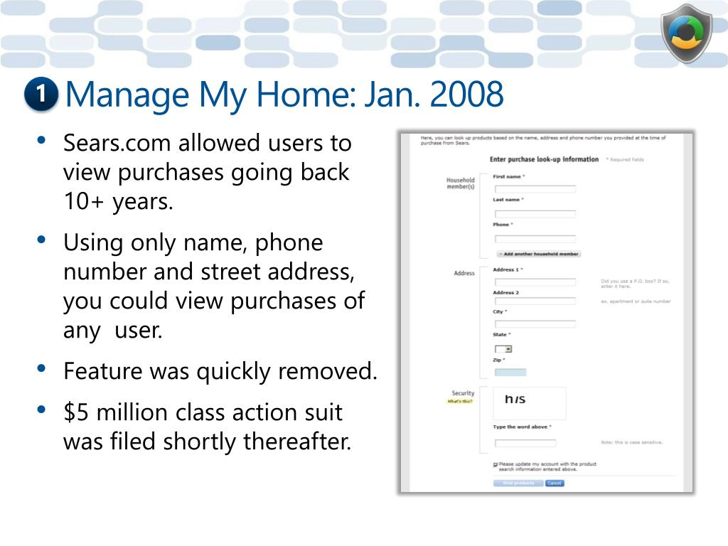 Manage My Home: Jan. 2008