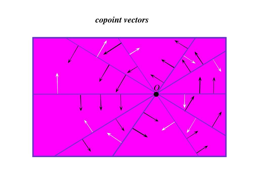 copoint vectors