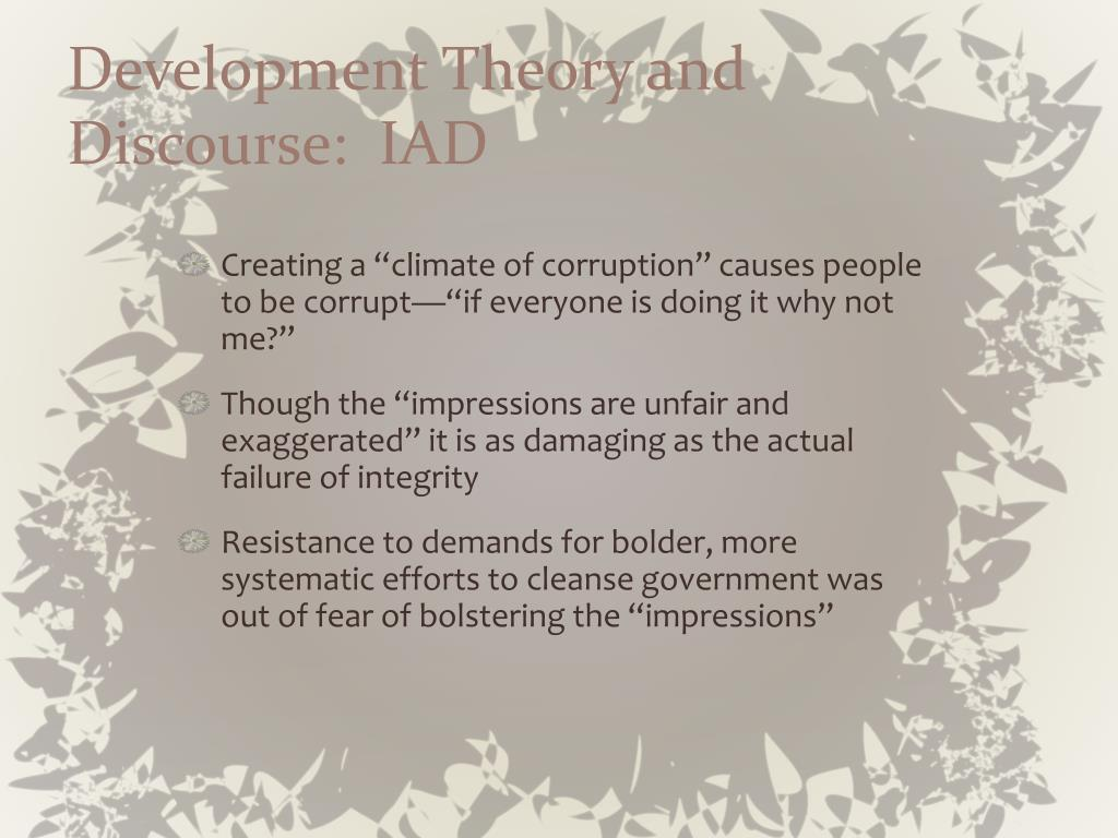 Development Theory and