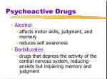 psychoactive drugs33