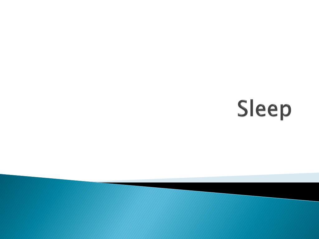 sleep l.