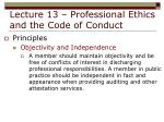 lecture 13 professional ethics and the code of conduct16