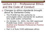 lecture 13 professional ethics and the code of conduct33