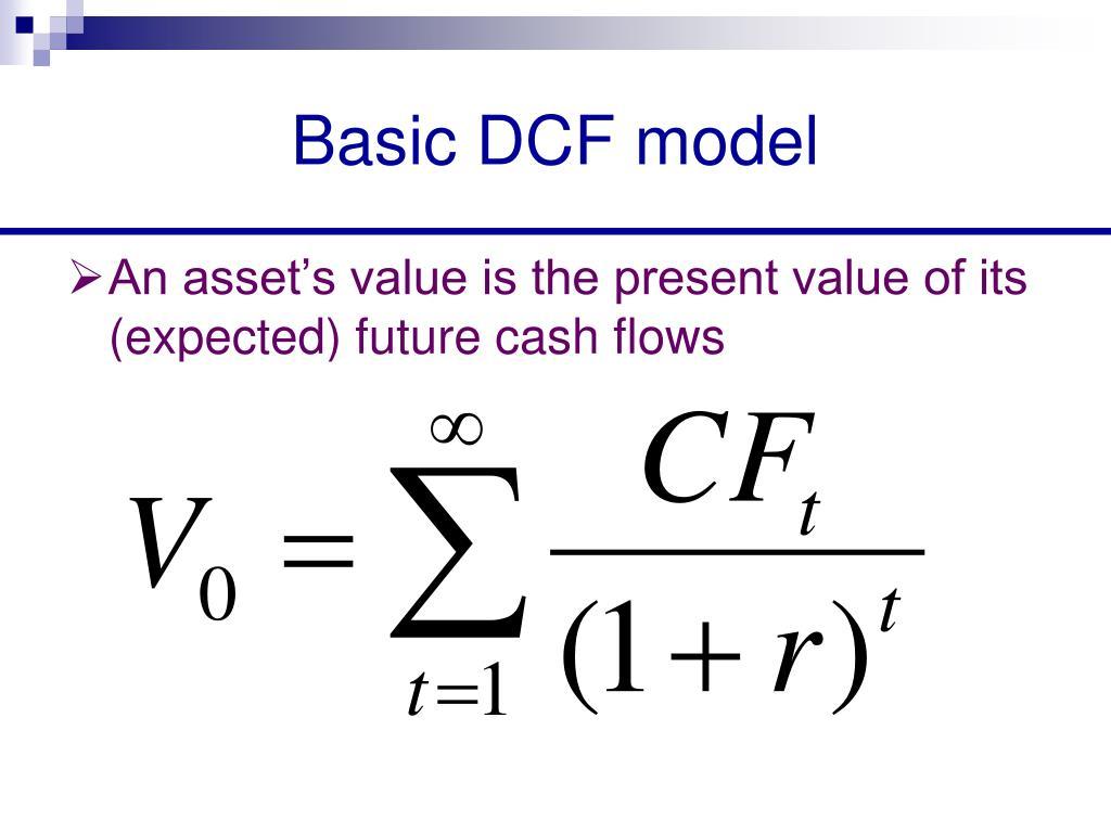 Basic DCF model
