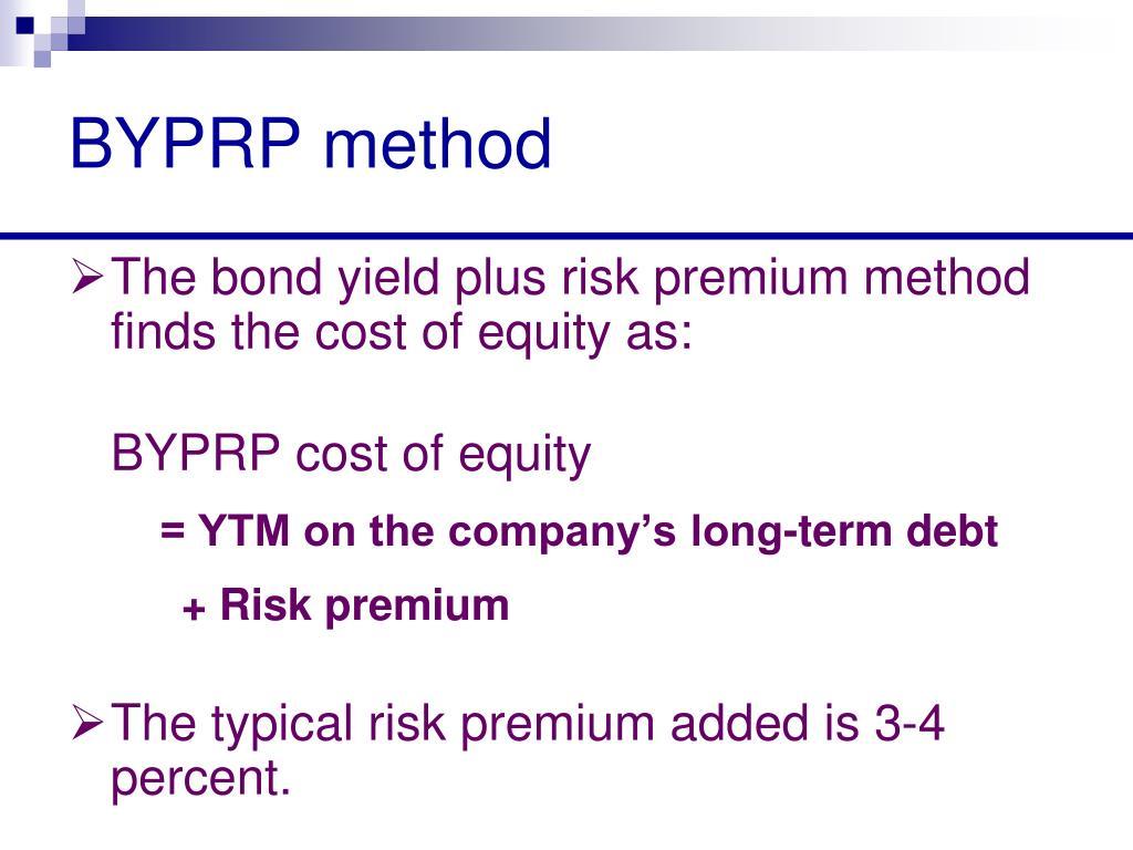BYPRP method