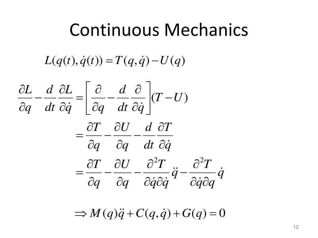 Continuous Mechanics