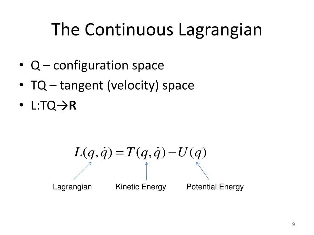 The Continuous Lagrangian