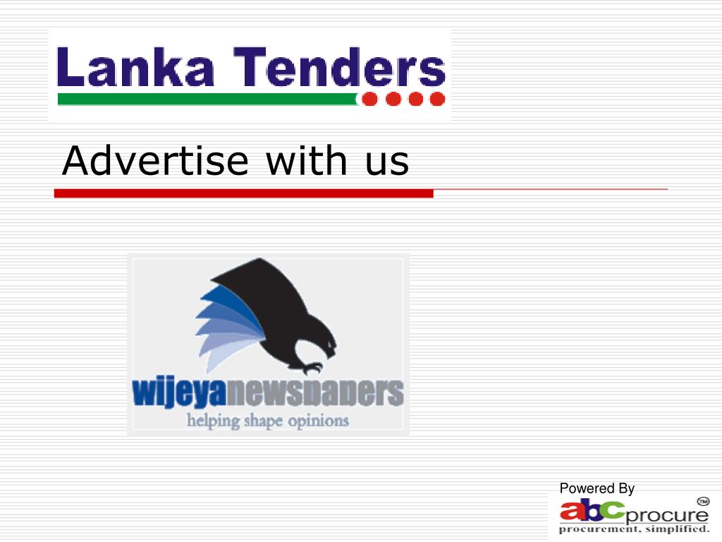 advertise with us l.