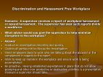discrimination and harassment free workplace20