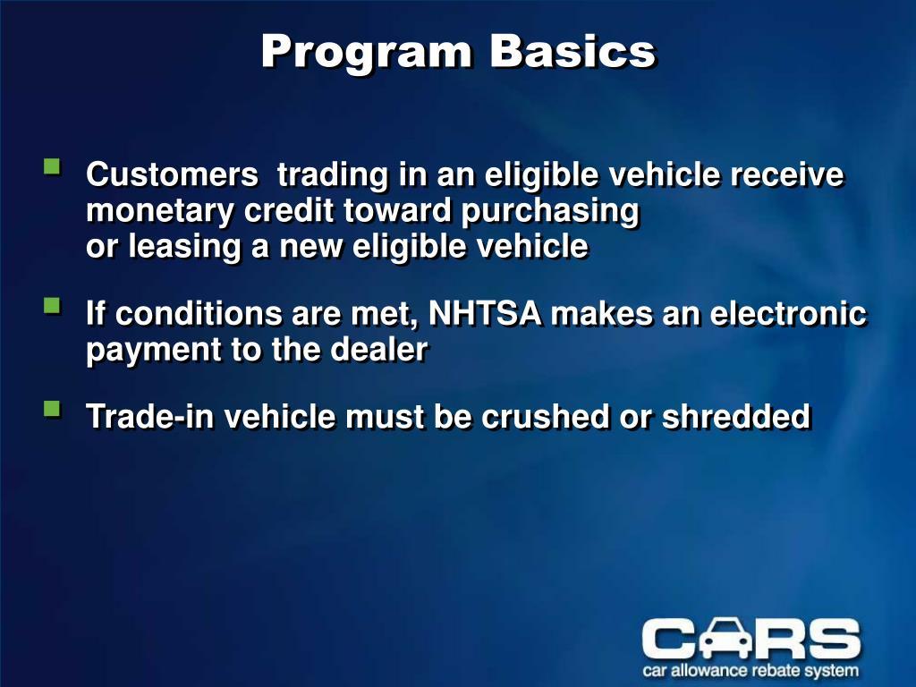 Program Basics