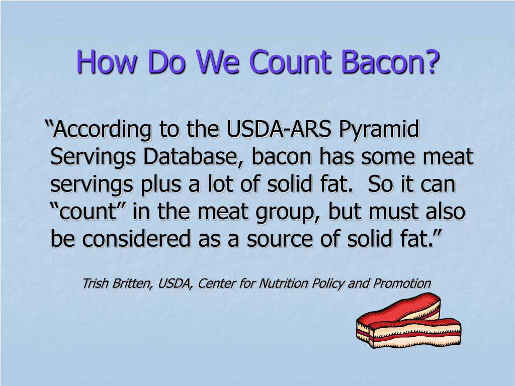 How Do We Count Bacon?