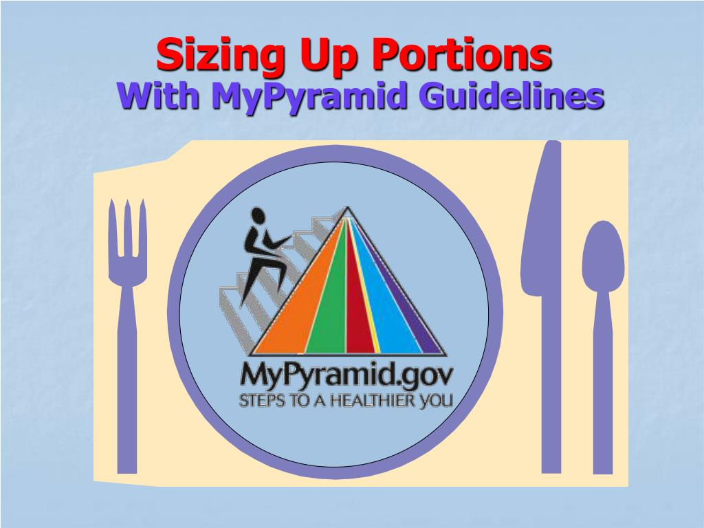 Sizing Up Portions