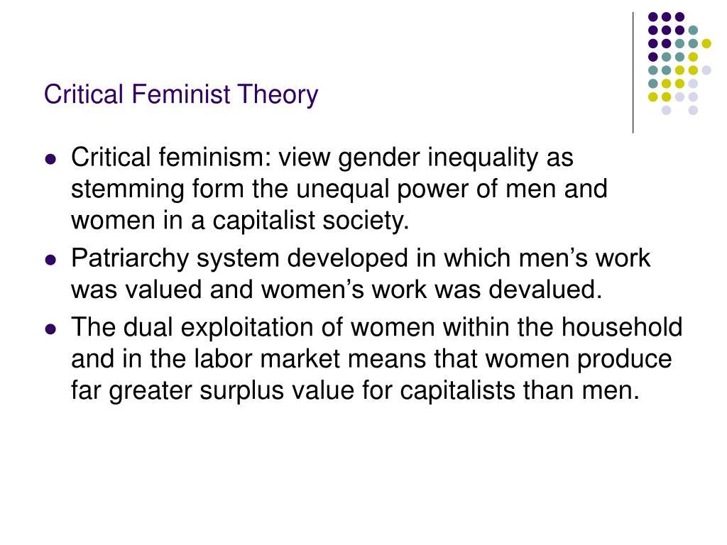 Critical Feminist Theory