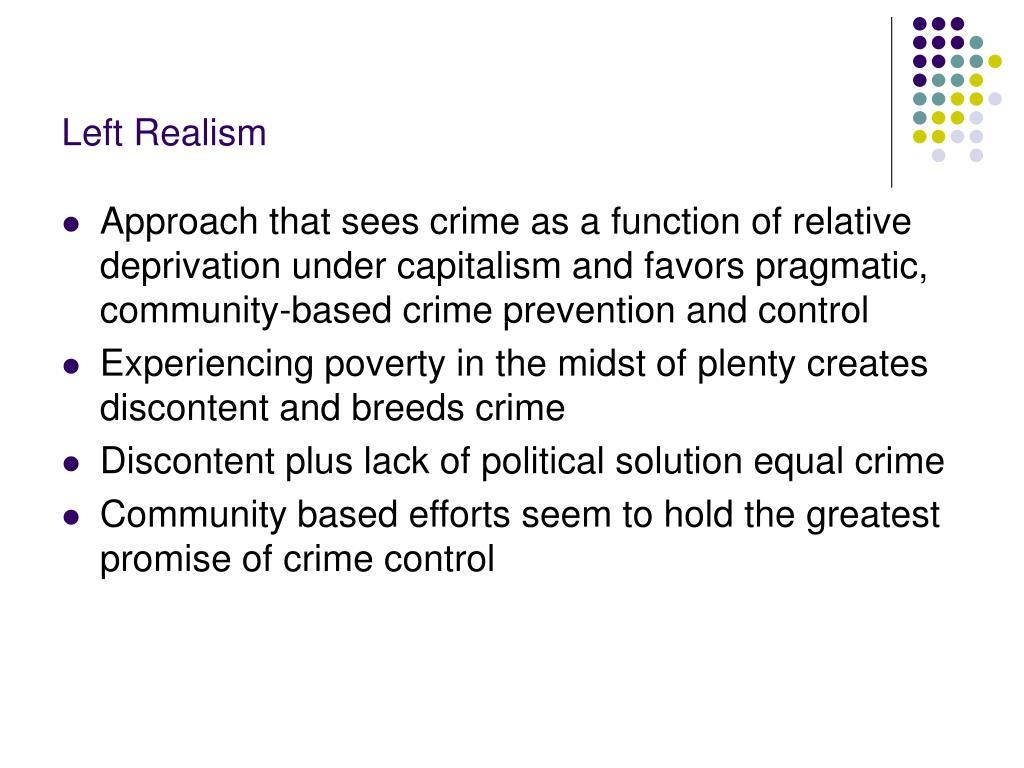Left Realism
