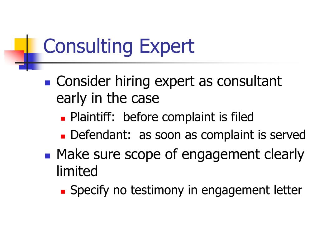 Consulting Expert