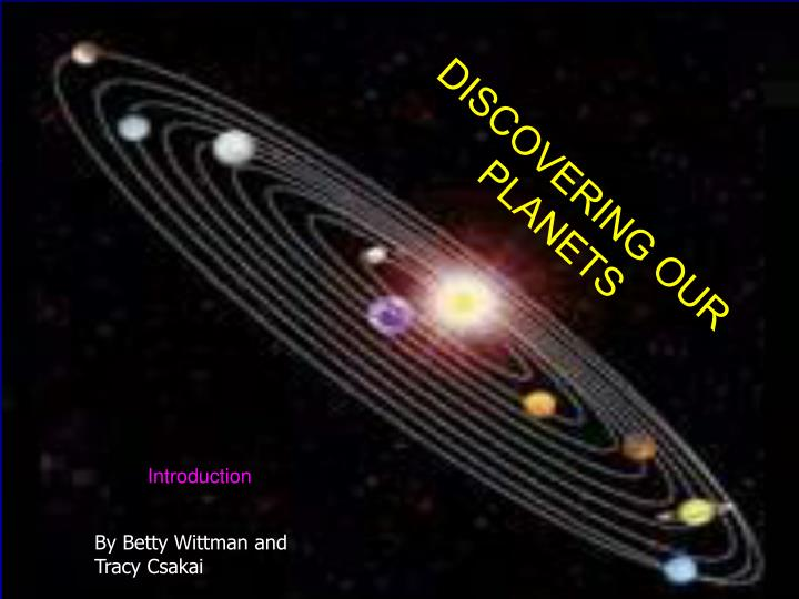 Discover our planets