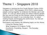 theme 1 singapore 2010