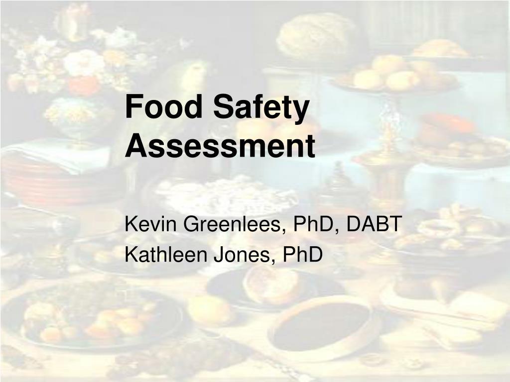 food safety assessment l.