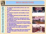 becs objectives