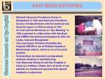 past becs activities