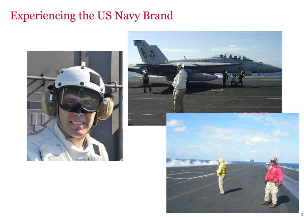 Experiencing the US Navy Brand
