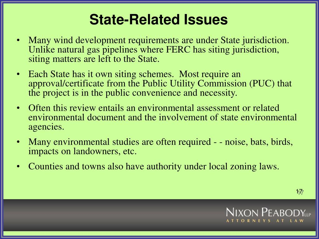 State-Related Issues