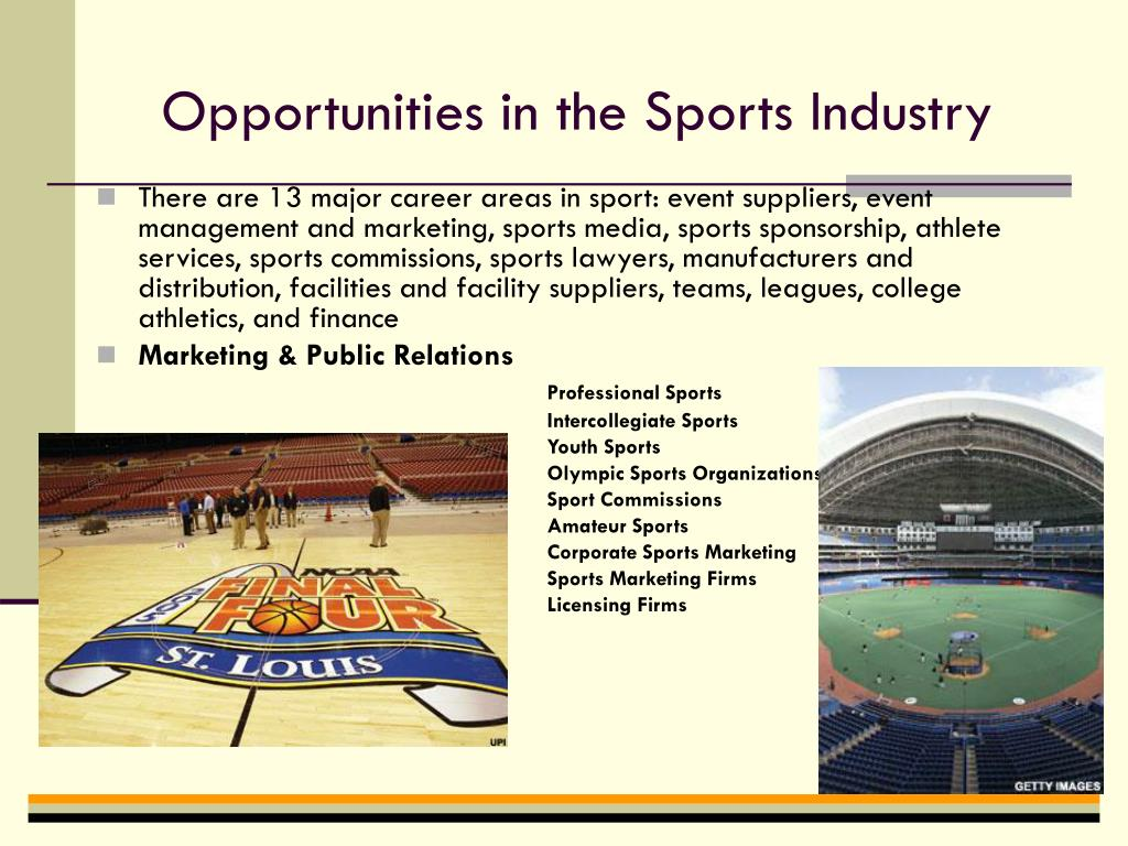 sports industry