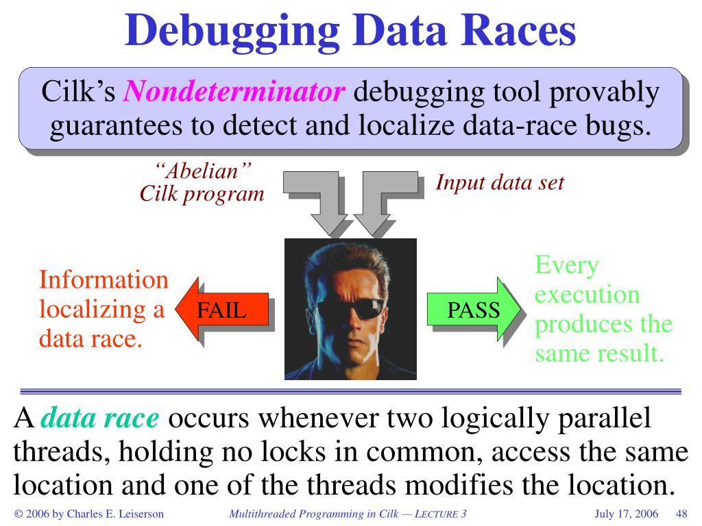 Debugging Data Races