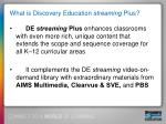 what is discovery education streaming plus