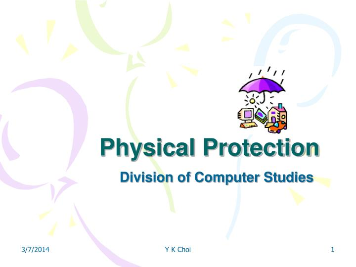 physical protection n.
