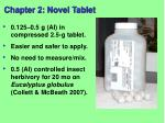chapter 2 novel tablet