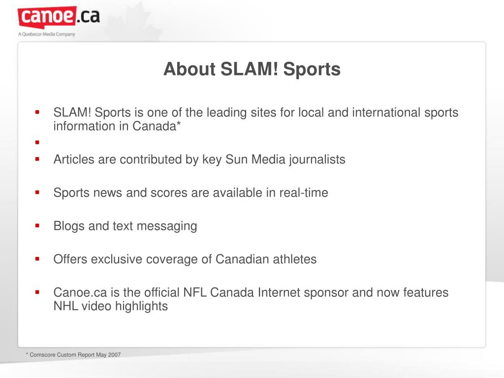 About SLAM! Sports