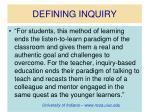 defining inquiry7